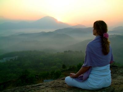 Meditation-Sunrise